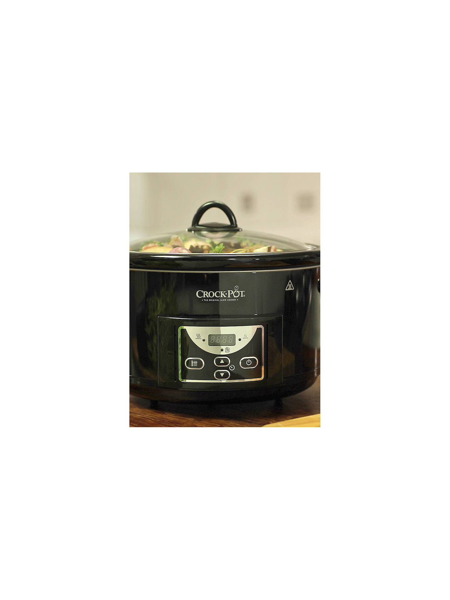 87d5f1545799 Buy Crock-Pot SCCPRC507B-060 Digital Slow Cooker, Black Online at johnlewis.