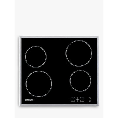 Samsung C61R1AAMST Ceramic Hob, Stainless Steel