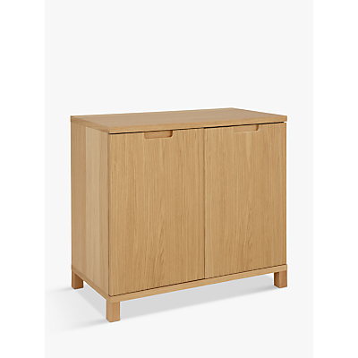 John Lewis Abacus Wide Storage Cupboard, FSC-Certified