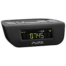 Buy Pure Siesta Mi Series 2 DAB/FM Bedside Clock Radio Online at johnlewis.com