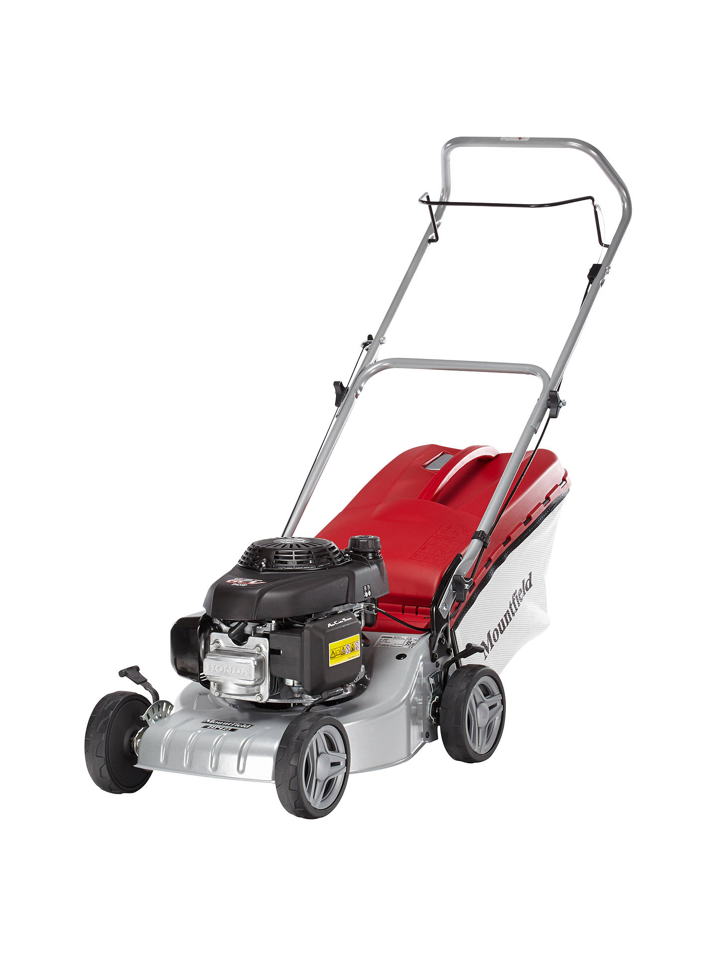 BuyMountfield HP425 41cm Hand-Propelled Petrol Lawnmower Online at johnlewis.com