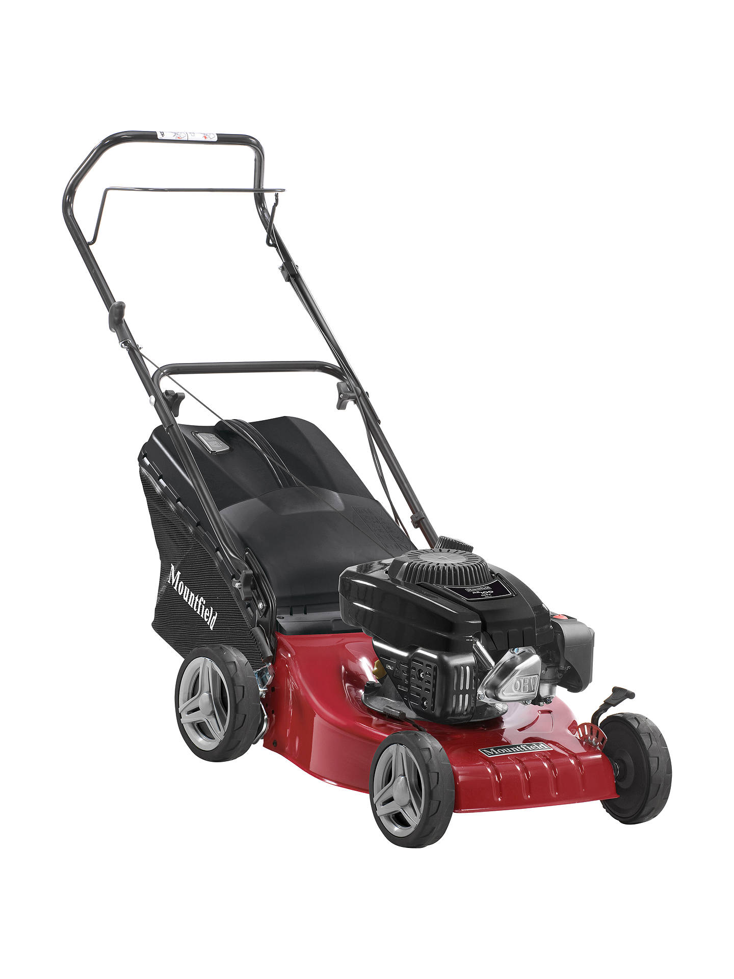 BuyMountfield S421HP 41cm Hand-Propelled Petrol Lawnmower Online at johnlewis.com