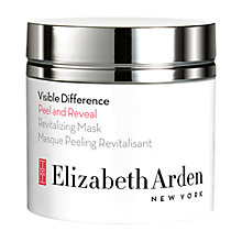 Buy Elizabeth Arden Visible Difference Peel and Reveal Revitalizing Mask, 50ml Online at johnlewis.com