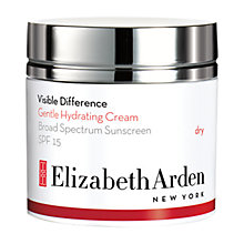 Buy Elizabeth Arden Visible Difference Gentle Hydrating Cream SPF 15, 50ml Online at johnlewis.com