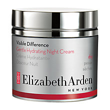 Buy Elizabeth Arden Visible Difference Gentle Hydrating Night Cream, 50ml Online at johnlewis.com