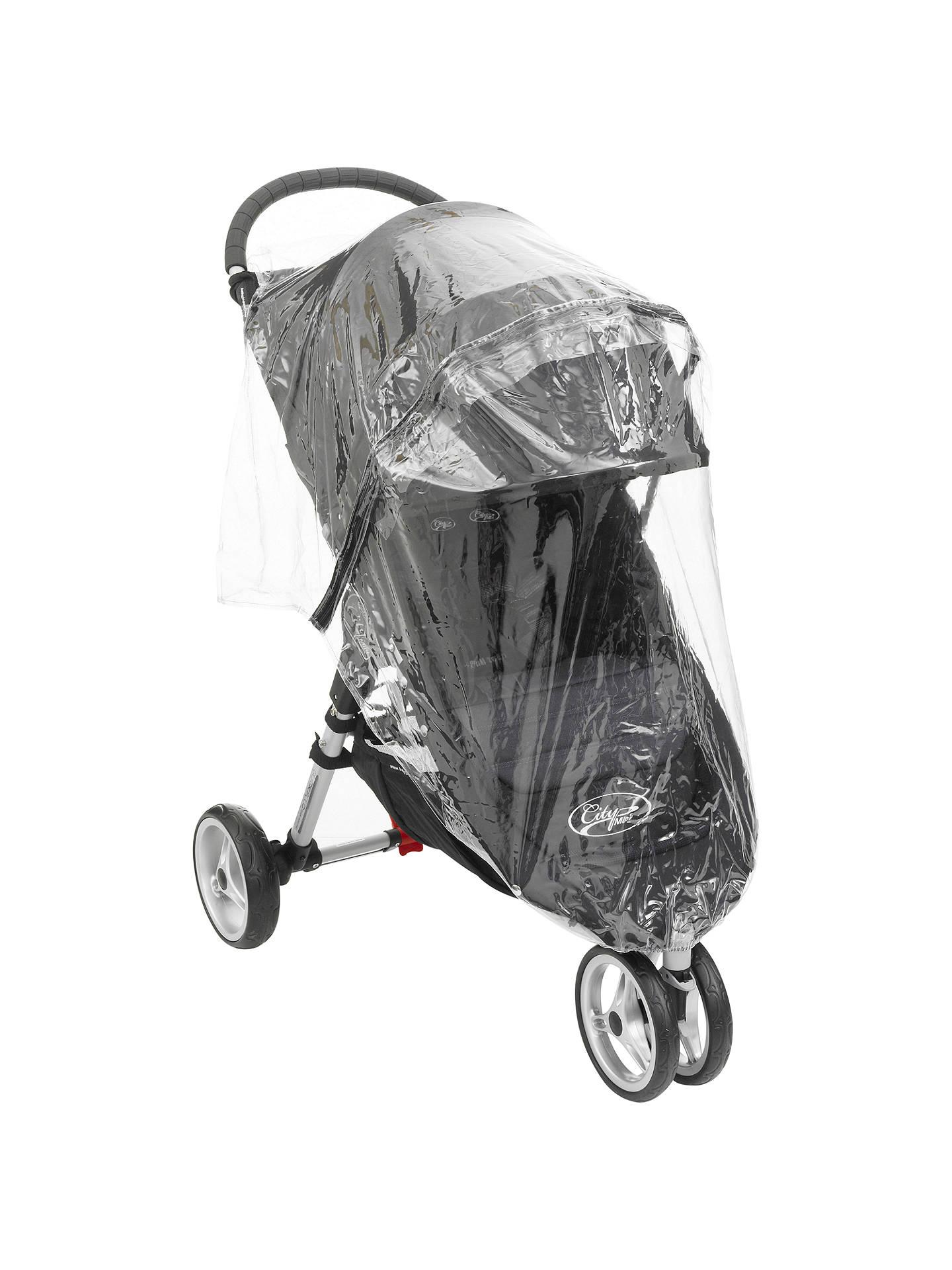Baby Jogger City Mini Gt Pushchair Raincover Single