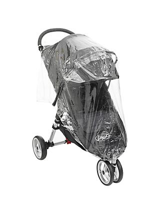 Baby Jogger City Mini GT Pushchair Raincover, Single