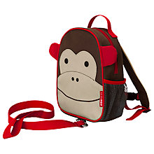 Buy Skip Hop Zoolet Toddler Backpack, Monkey Online at johnlewis.com