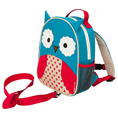 Product photo of Skip hop zoolet toddler backpack owl