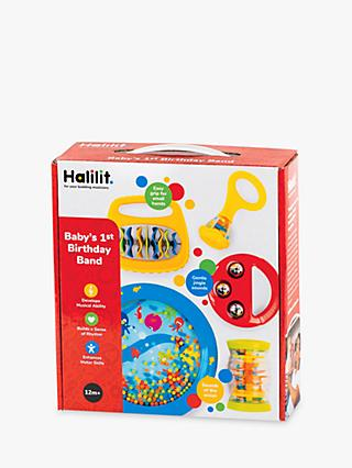 Halilit Baby's First Birthday Band Musical Instrument Set