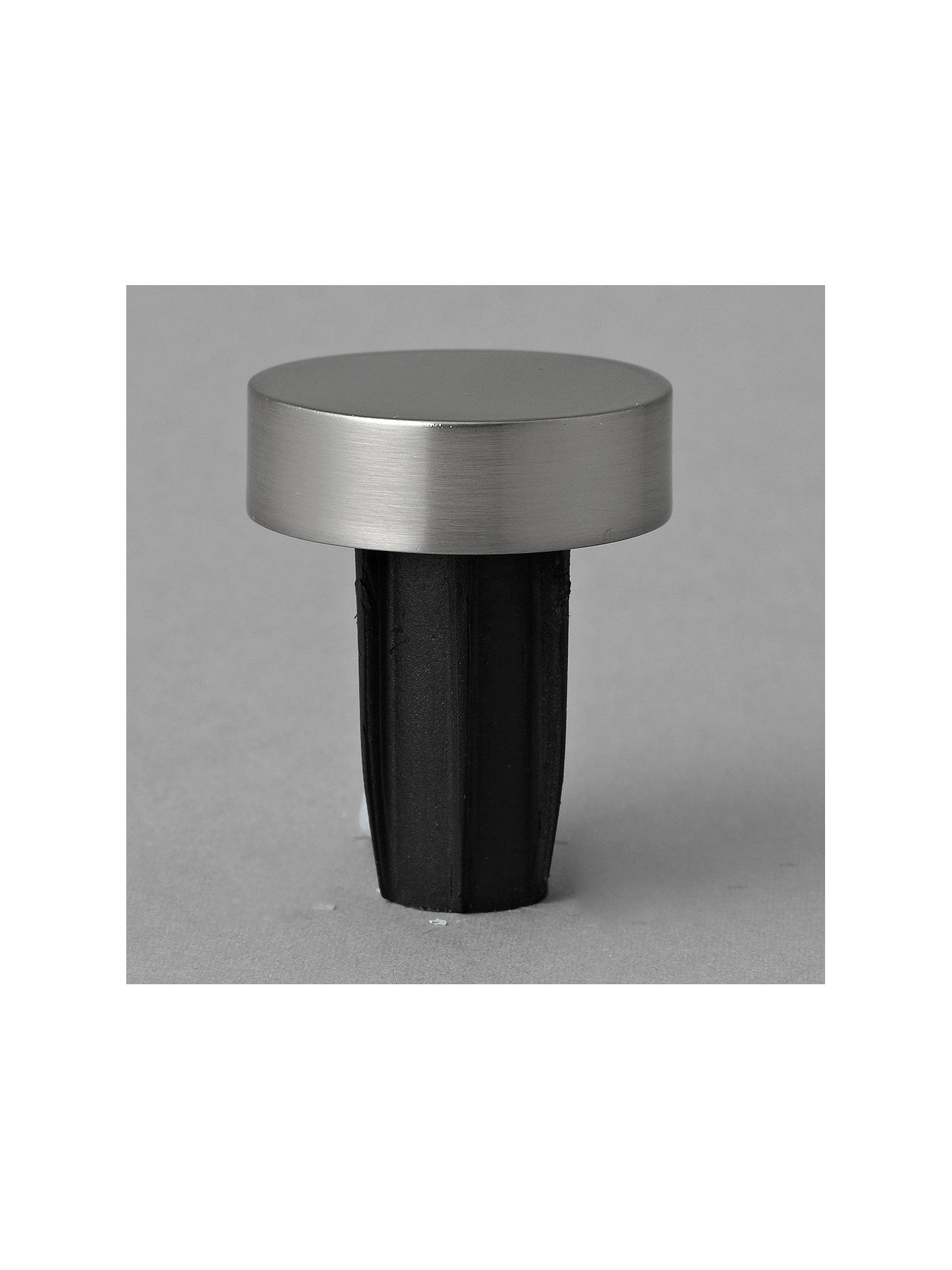 BuyJohn Lewis & Partners Steel Curtain Stud Finial, Dia.19mm Online at johnlewis.com
