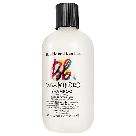 Buy Bumble and bumble Color Minded Sulfate Free Shampoo, 250ml Online at johnlewis.com