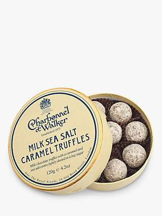 Charbonnel et Walker Sea Salt Caramel Truffles,120g