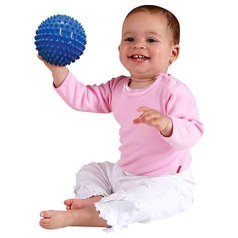 Buy Halilit 10cm Sensory Ball, Blue Online at johnlewis.com