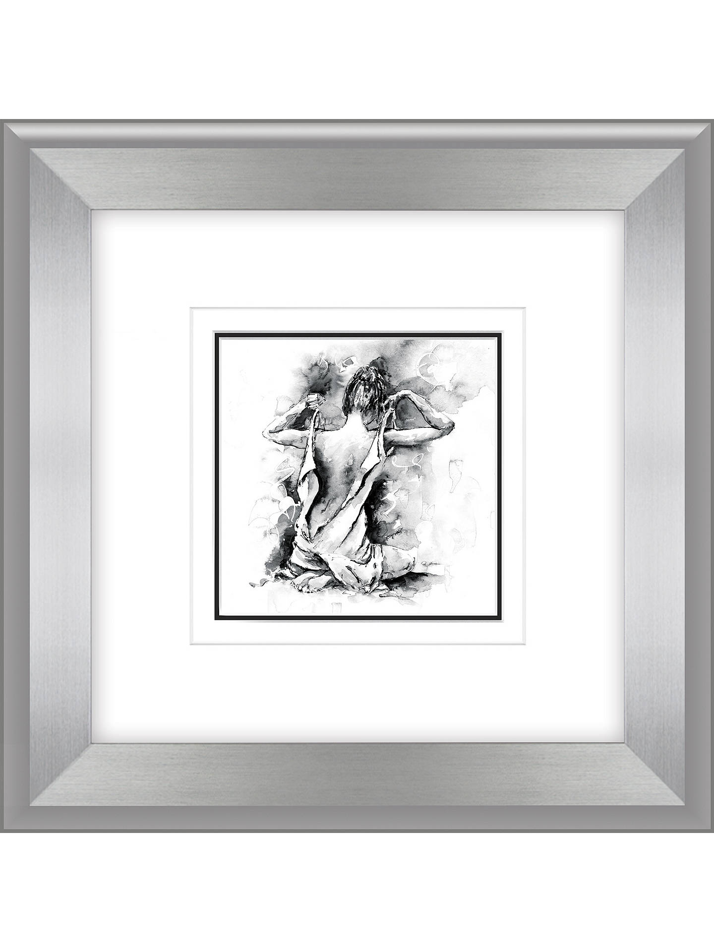 BuyJoanne Boon Thomas- Figurative Study IV Framed Print, 47 x 47cm Online at johnlewis.com