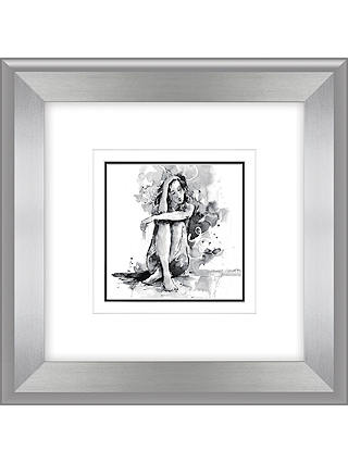 Buy Joanne Boon Thomas- Figurative Study III Framed Print, 47 x 47cm Online at johnlewis.com