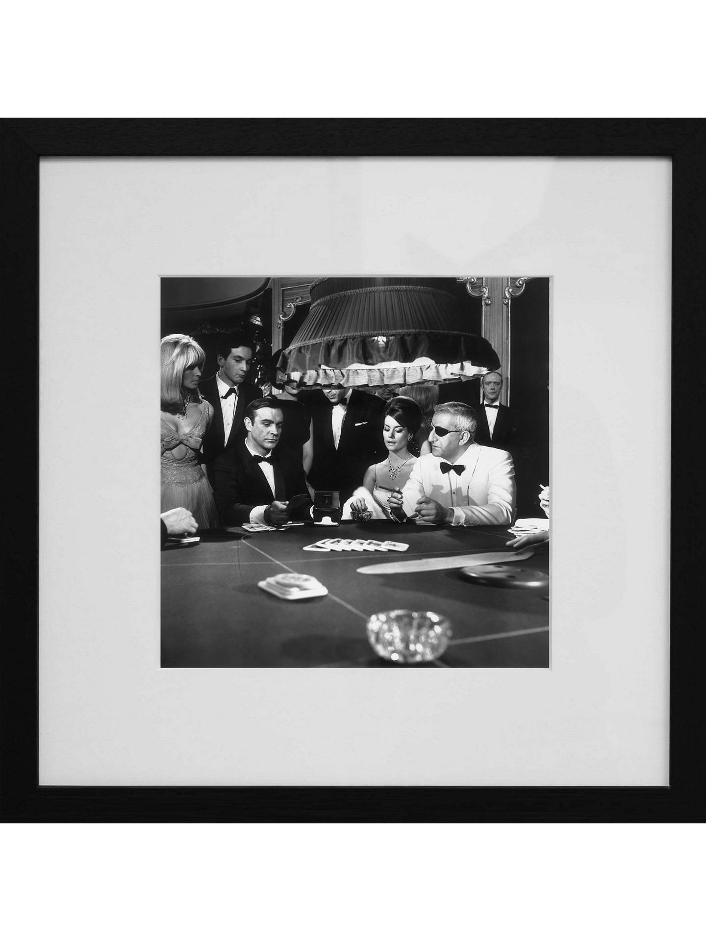 Buy Getty Images Gallery James Bond 'Thunderball' Framed 1965 Print, 50 x 50cm Online at johnlewis.com