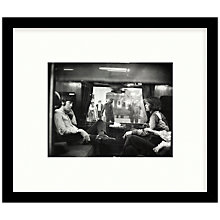 Buy Getty Images Gallery Paul McCartney & Mick Jagger First Class Travel 67 Framed Print, 49 x 57cm Online at johnlewis.com