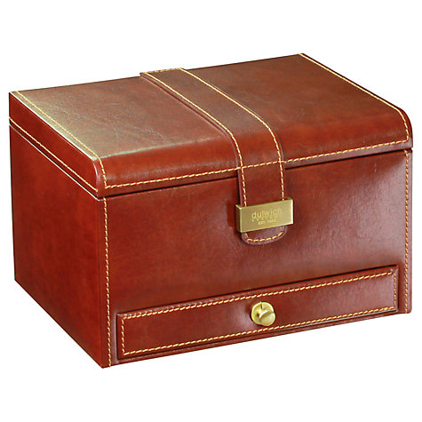 Buy Dulwich Designs Heritage 3 Piece Watch Box, Brown Online at johnlewis.com