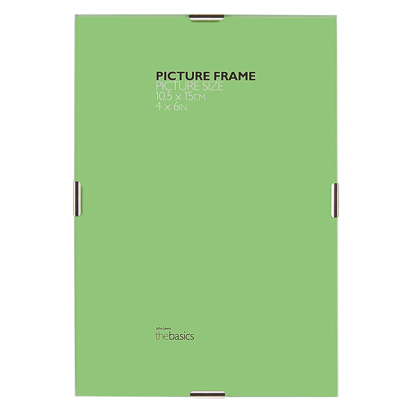 A3 30 x 40cm photo frames accessories john lewis buy john lewis the basics clip frames online at johnlewis jeuxipadfo Gallery