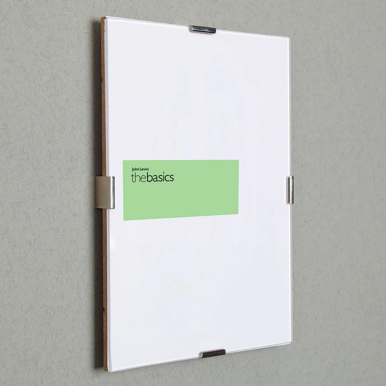 John Lewis The Basics Clip Frame, 9 x 11\