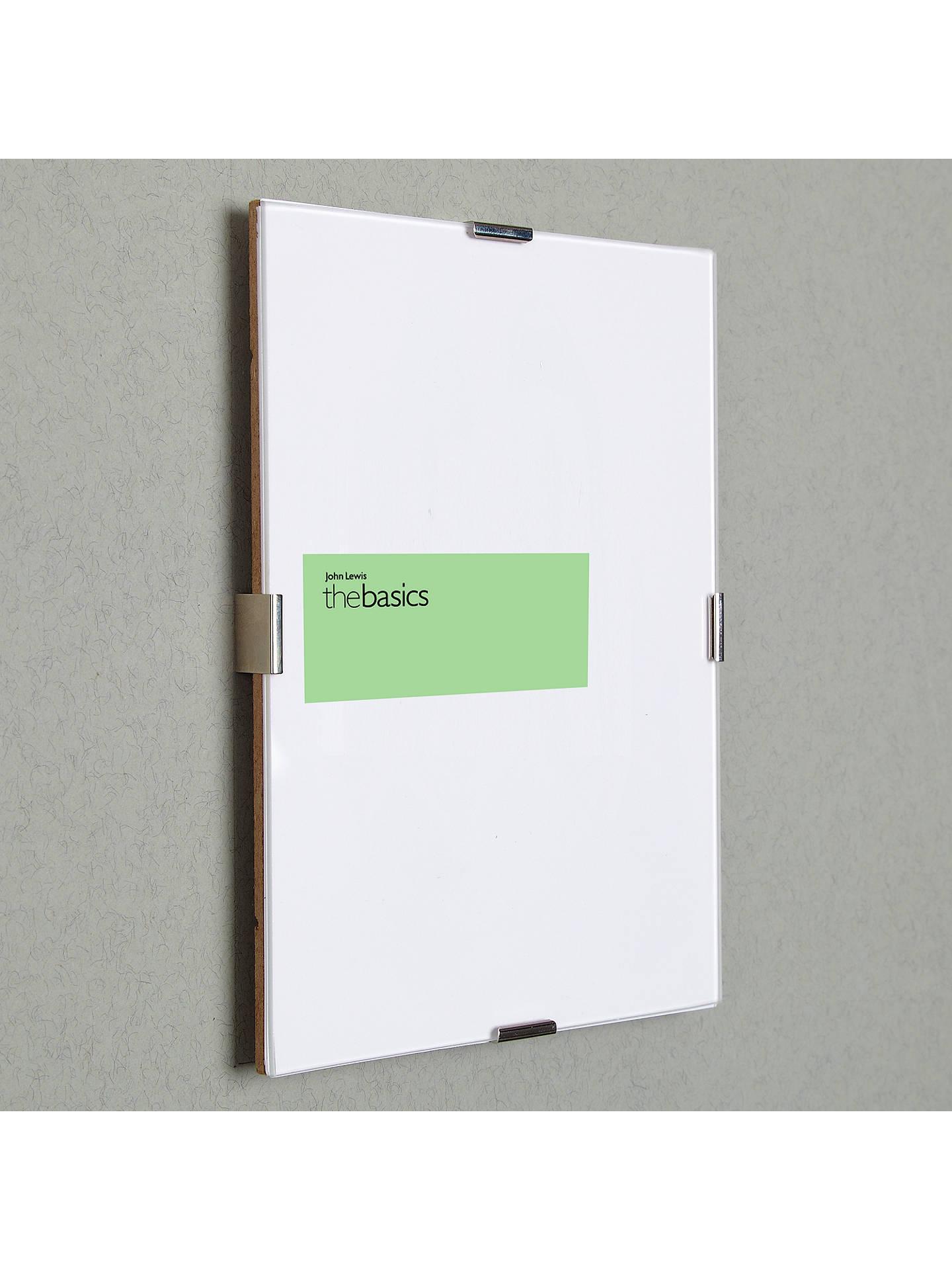 John Lewis Partners The Basics Clip Frame 11 X 15 30 X 40cm At