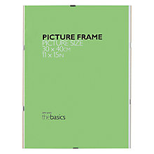 "Buy John Lewis The Basics Clip Frame, 11 x 15"" (30 x 40cm) Online at johnlewis.com"