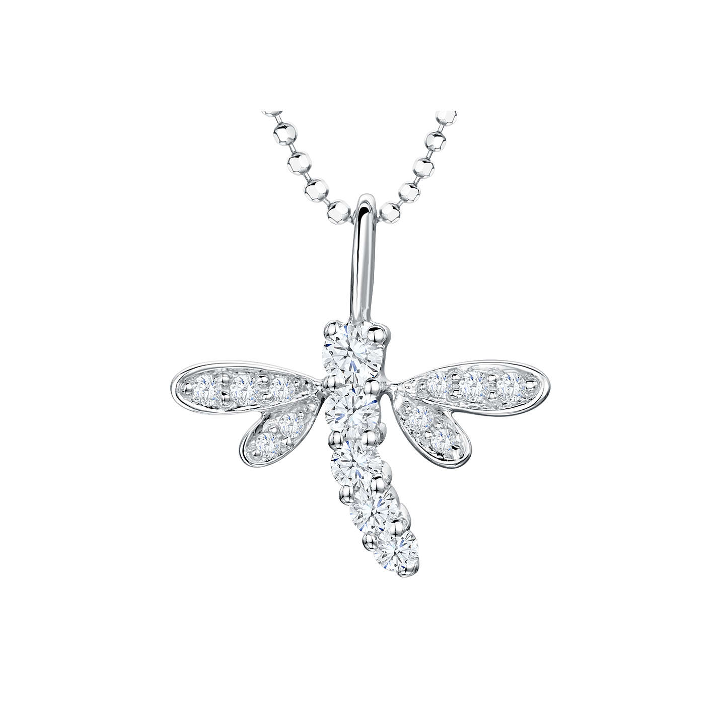overstock diamonds jewelry gold with today dragonfly pendant sterling rose plated free yellow watches product shipping necklace silver filigree in