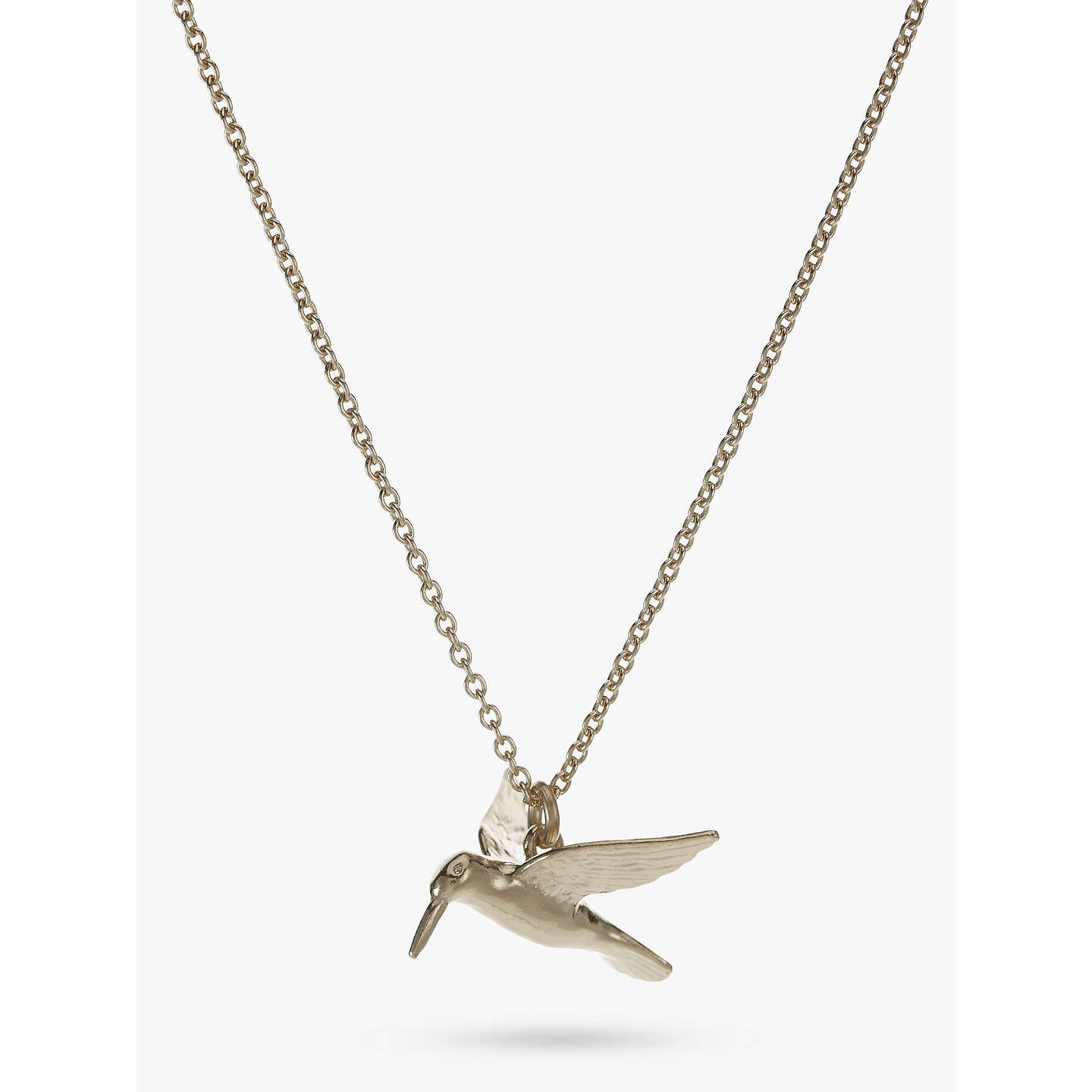 by silver hummingbird gaamaa necklace original product com notonthehighstreet