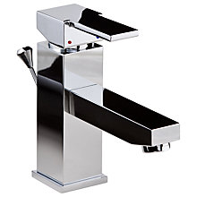 Buy John Lewis Hodder Monobloc Basin Mixer Tap Online at johnlewis.com