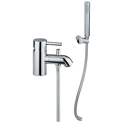 Image of Abode Harmonie Low Pressure Single Lever Mono Bathroom Filler Tap with Shower Diverter