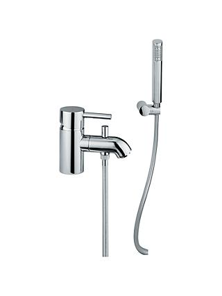 Abode Harmonie Low Pressure Single Lever Mono Bathroom Filler Tap with Shower Diverter