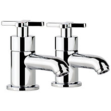 Buy Abode Serenitie Basin Pillar Taps Online at johnlewis.com