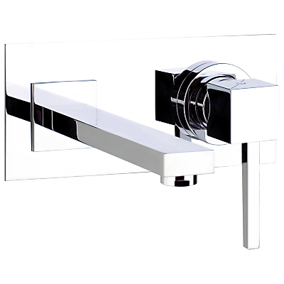 Image of Abode Zeal Wall Mounted Single Lever Basin/Bath Mixer Bathroom Tap