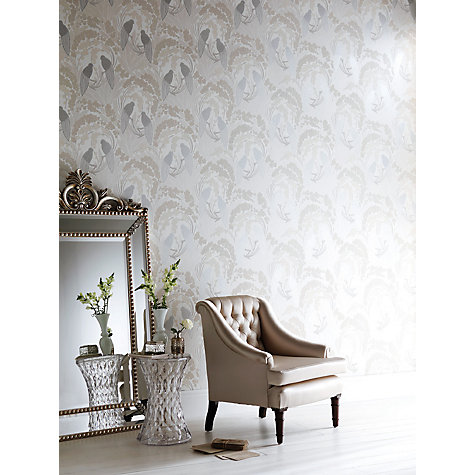 Buy Harlequin Lovebirds Wallpaper Online at johnlewis.com