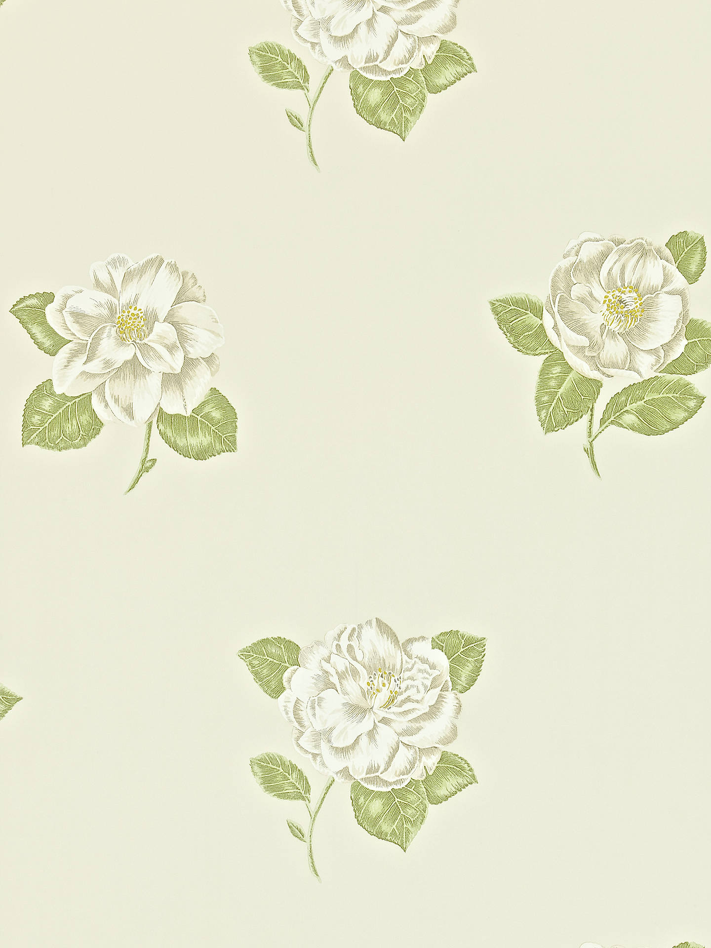 Buy Sanderson Lamorna Wallpaper, Cream/Ivory, 211988 Online at johnlewis.com