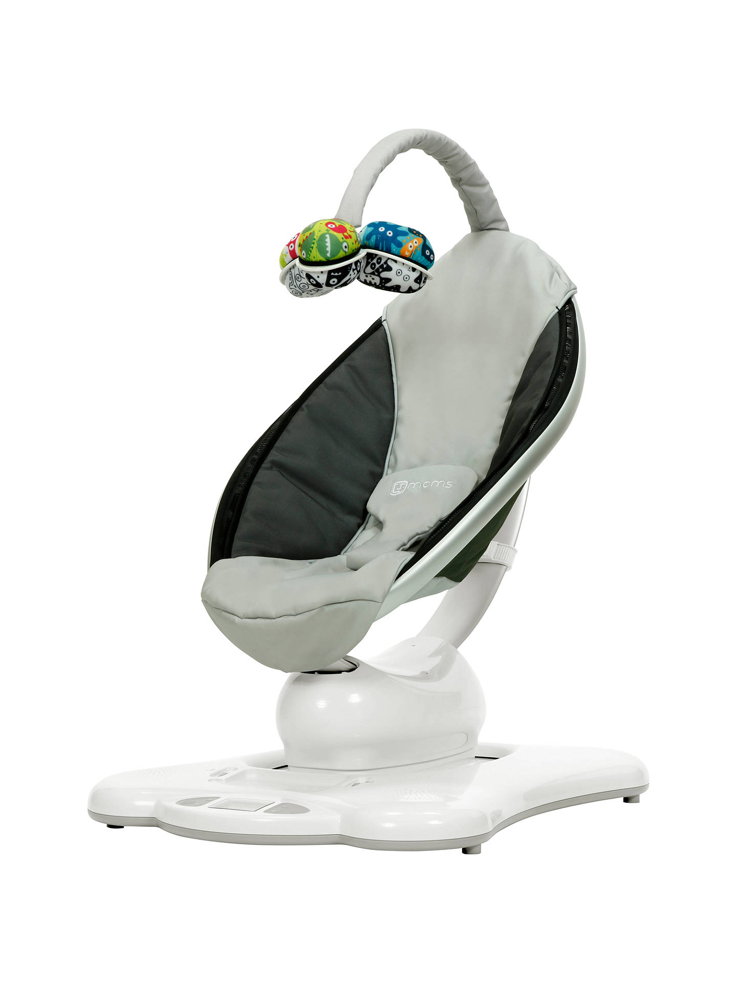 Buy 4moms mamaRoo Bouncer, Silver Online at johnlewis.com