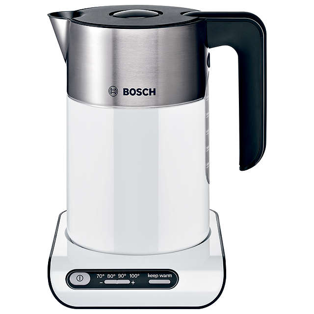 BuyBosch Styline TWK8631GB Kettle, White Online at johnlewis.com