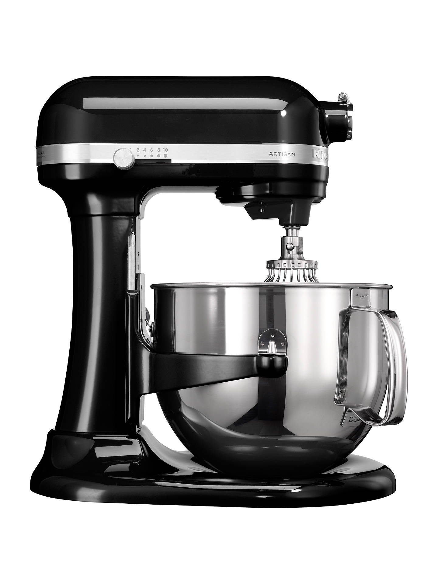 BuyKitchenAid 6.9L Artisan Stand Mixer, Onyx Black Online at johnlewis.com