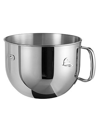 Buy KitchenAid 6.9L Artisan Stand Mixer, Onyx Black Online at johnlewis.com
