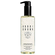 Buy Bobbi Brown Soothing Cleansing Oil Online at johnlewis.com