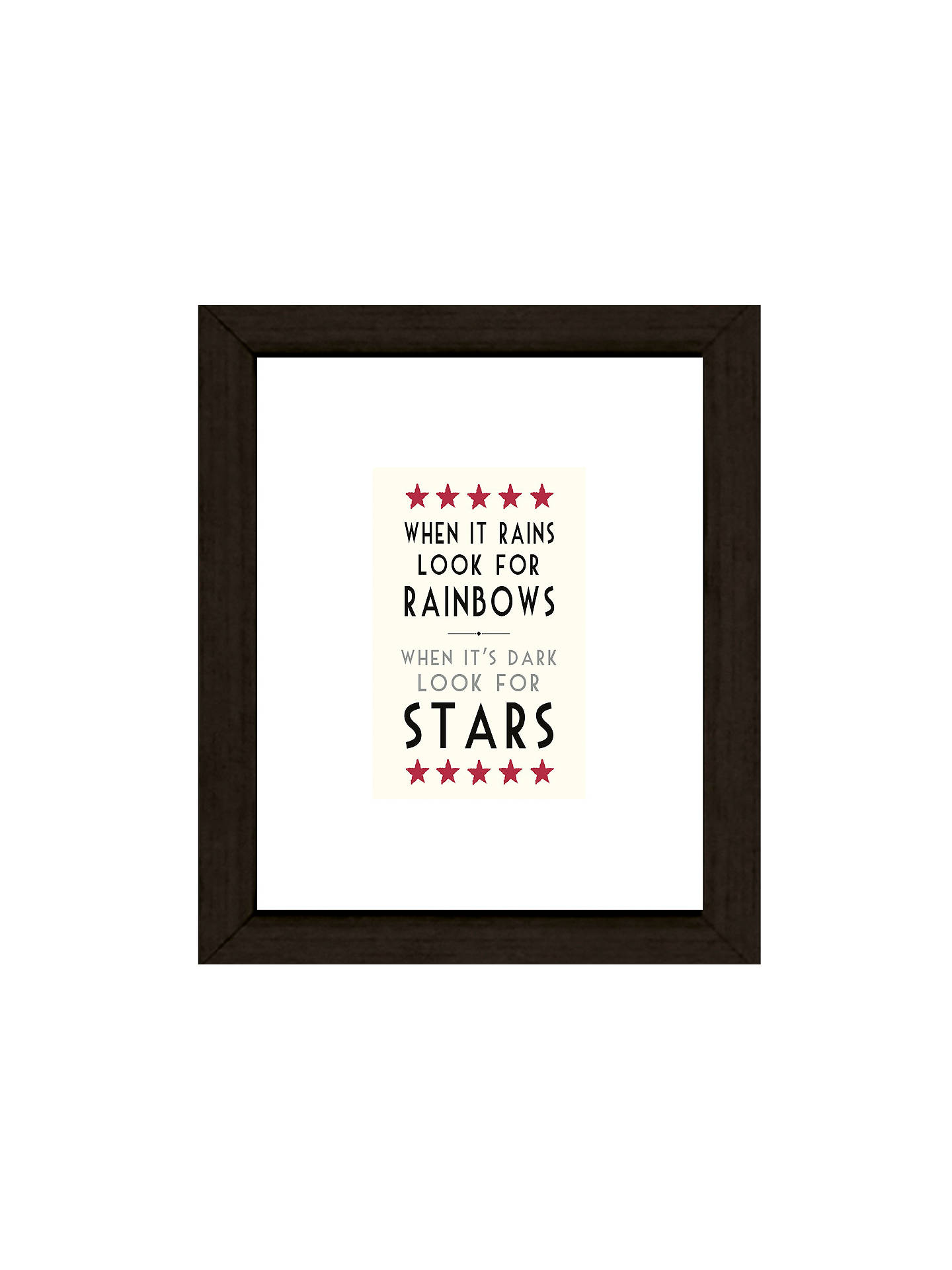 Buy East of India When It Rains Framed Print, 27 x 23cm Online at johnlewis.com