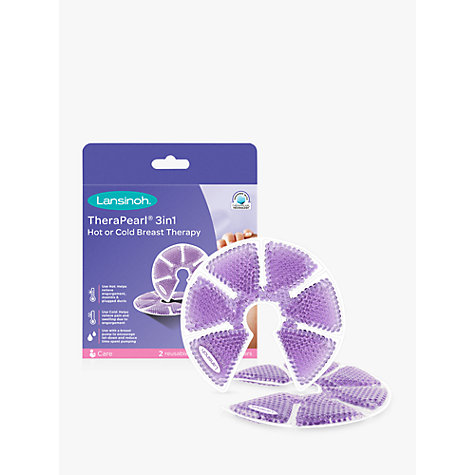 Buy Lansinoh Therapearl 3-in-1 Breast Therapy Pack Online at johnlewis.com
