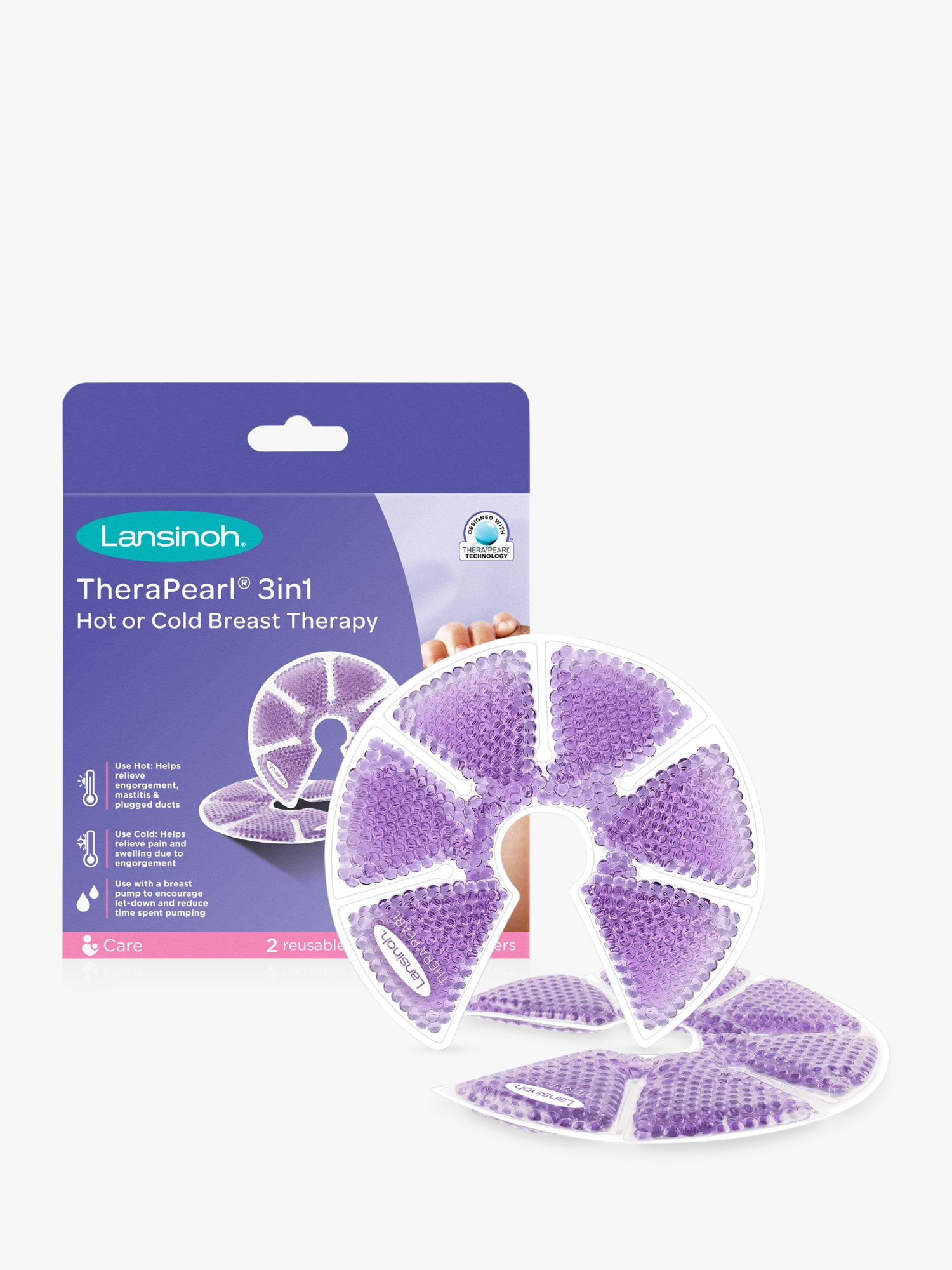 Lansinoh Lansinoh Therapearl 3-in-1 Breast Therapy Pack