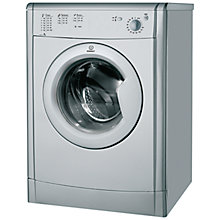 Buy Indesit IDV75S Vented Tumble Dryer, 7kg Load, C Energy Rating, Silver Online at johnlewis.com