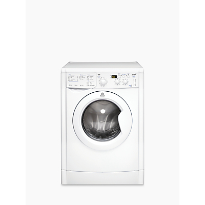 Indesit IWDD7143 Washer Dryer, 7kg Wash/5kg Dry Load, B Energy Rating, 1400rpm Spin, White