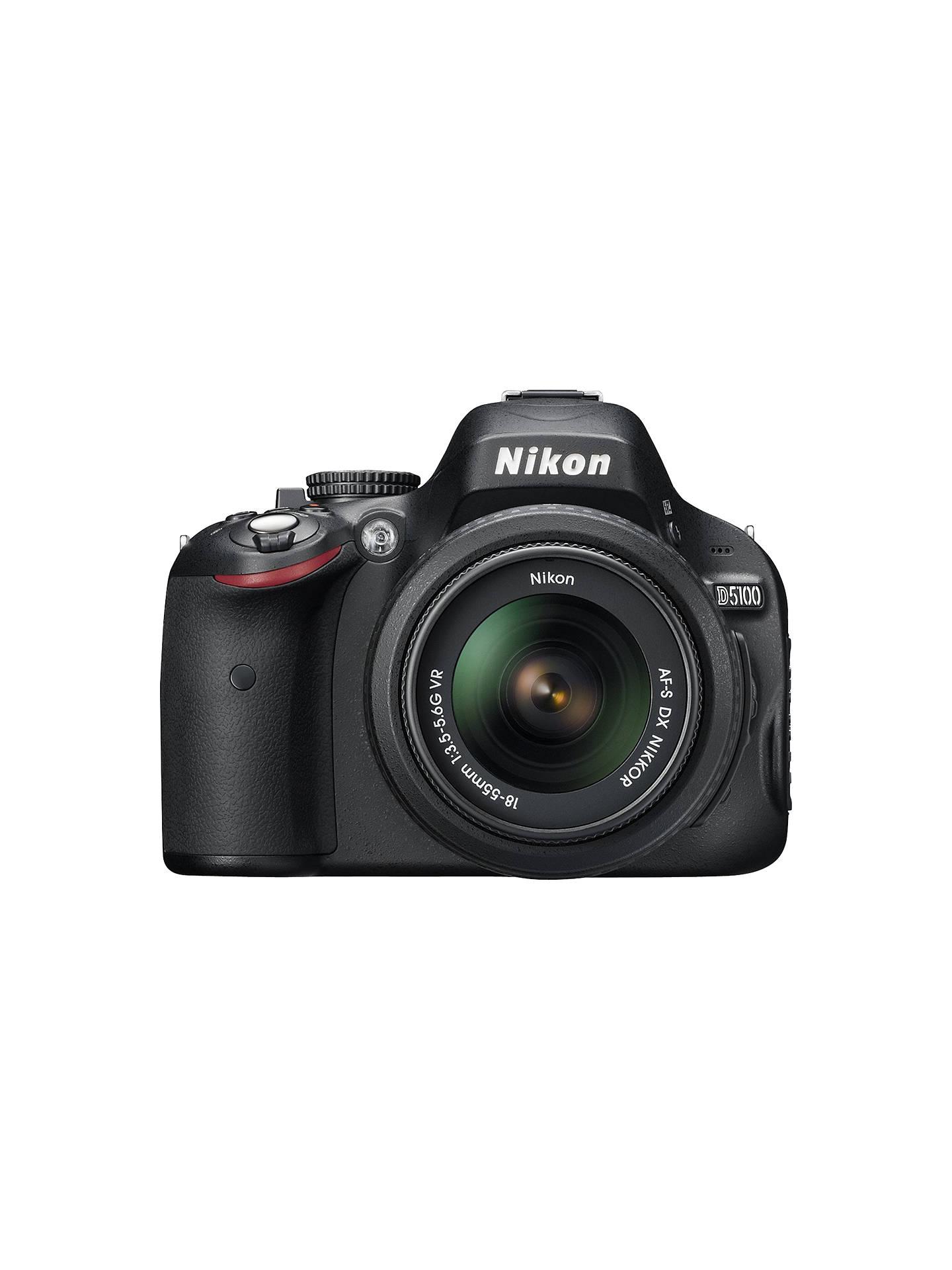 Buy Nikon D5100 Digital SLR Camera with 18-55mm & 55-200mm VR Lens ...