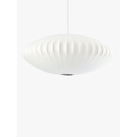 Buy george nelson bubble saucer ceiling light large john lewis buy george nelson bubble saucer ceiling light large online at johnlewis mozeypictures Gallery