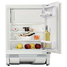 Buy Zanussi ZQA12430DA Integrated Built Under Fridge with Freezer Compartment, A+Energy Rating,60cm Wide Online at johnlewis.com