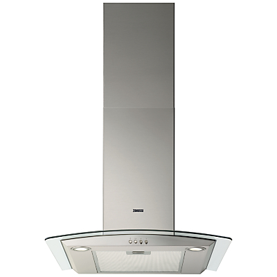 Zanussi ZHC6234X Chimney Cooker Hood, Stainless Steel Review thumbnail